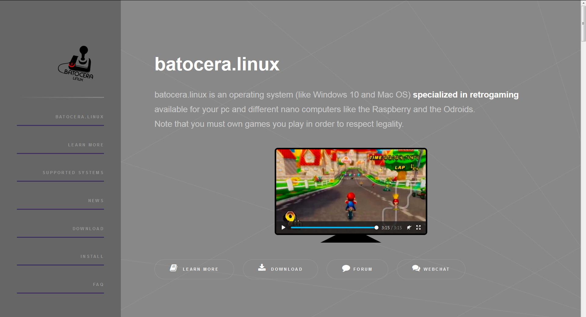 Batocera Linux - Guia de Favoritos